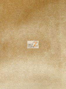 Solid Butter Velvet Fabric Gold