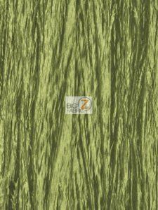 Crushed Taffeta Fabric Sage