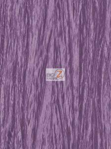 Crushed Taffeta Fabric Violet