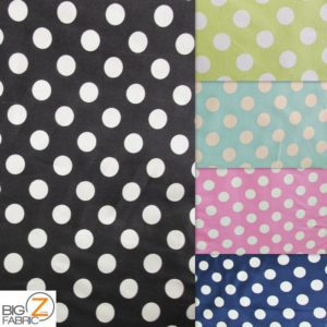 Big Polka Dot Riley Blake 100% Cotton Duck Fabric