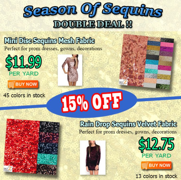 Season of Sequins Double Deal