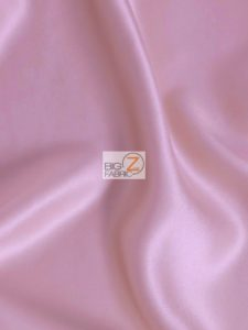 Solid Crepe Back Satin Fabric Dusty Rose