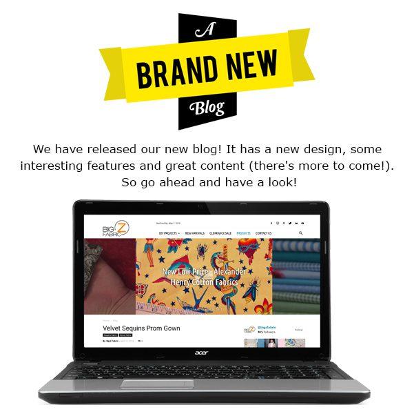 New Big Z Fabric Blog